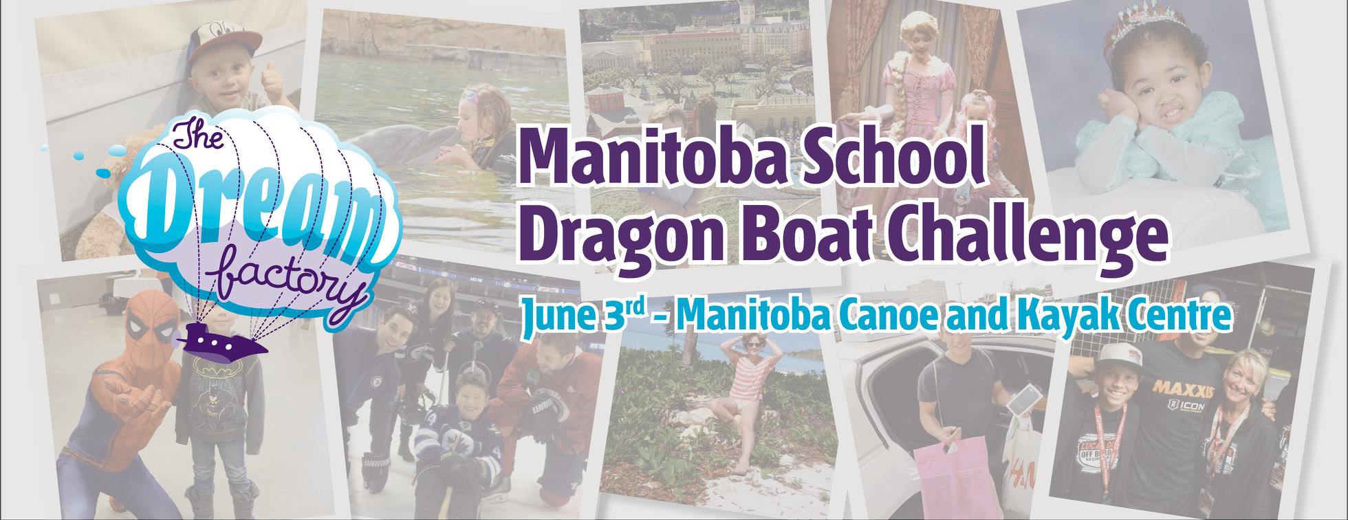 The Dream Factory Manitoba School Dragon Boat Challenge